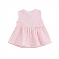 Camisa lisa desmangada rosa