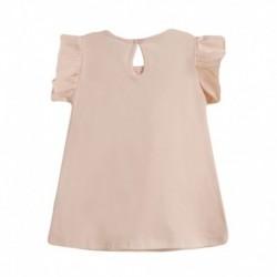 Vestido de punto con fruncido en pecho dibujo en lado izquierdo - Newness - BGV69552