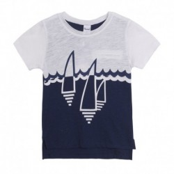 Camiseta velas en el mar - Newness - JBV68248