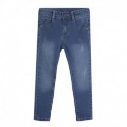 Pantalón largo vaquero roto - Newness - JGV58822