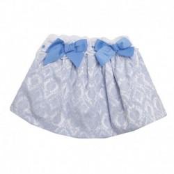 Falda fiesta estampado puntilla y lazo - Newness - JGV99702