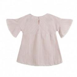 Vestido manga frances detalles bordados - Newness - JGV99793