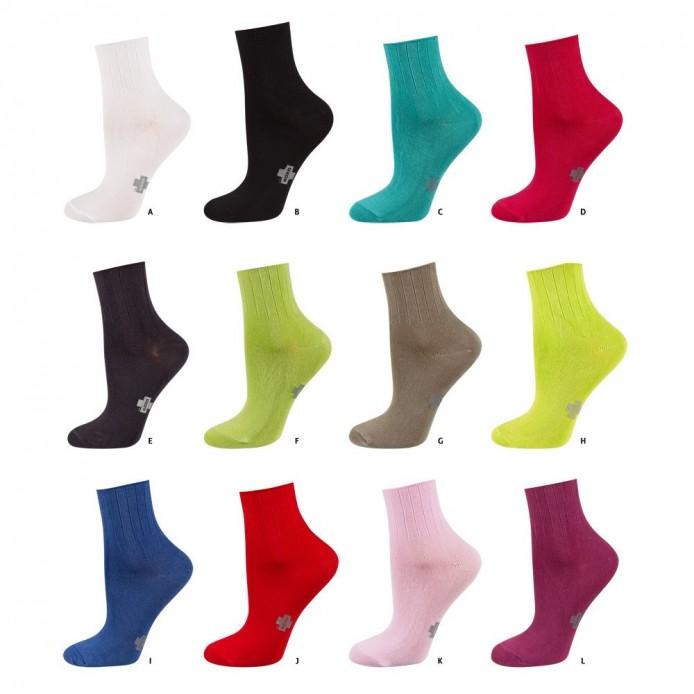 Calcetines lisos tejido modal: suaves y elásticos/antipresión - Soxo - SXV-32507