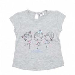 Camiseta m/c cute ballerina