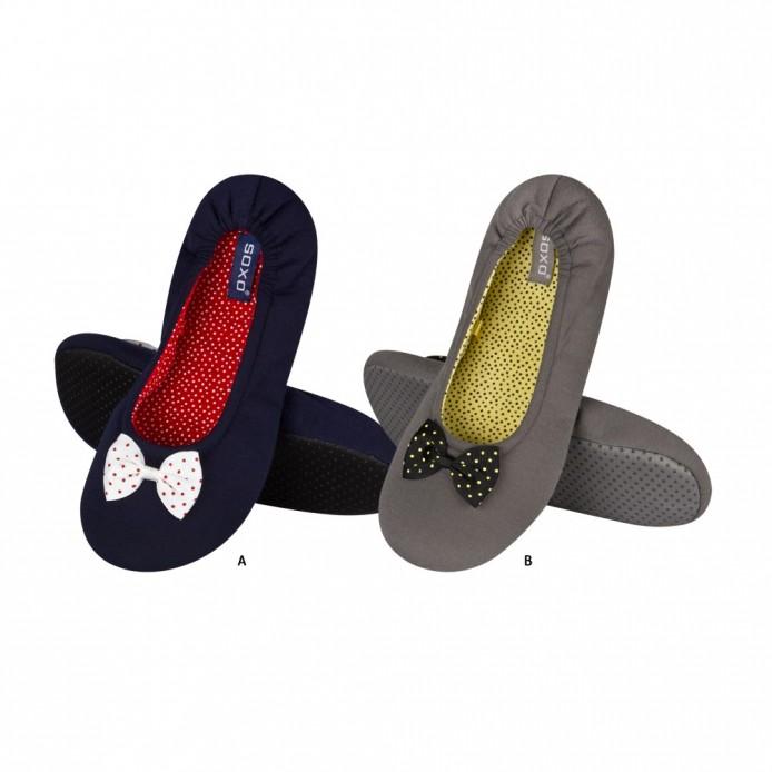 Zapatillas descanso con lazo - Soxo - SXV-62184