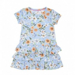 Vestido m/c flowers