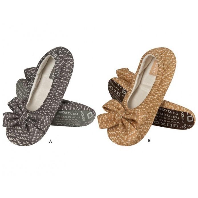 zapatillas descanso punto tipo bailarina - Soxo - SXV-58149