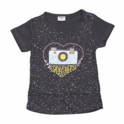 Camiseta/a m/c say cheese