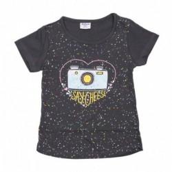 Camiseta/a m/c say cheese