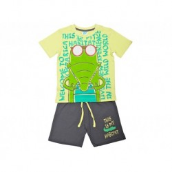Pijama inf niño m/c-p/c this is my habitat - Cotton Sugar - TAV-191 77002