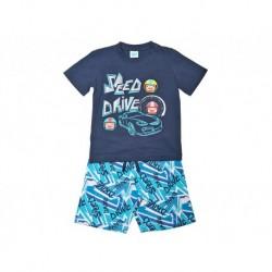 Pijama inf niño m/c-p/c speed drive