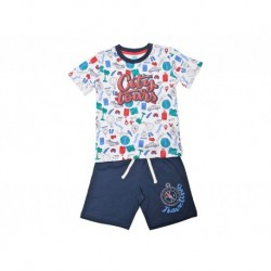 Pijama inf niño m/c-p/c city tours - Cotton Sugar - TAV-191 77005