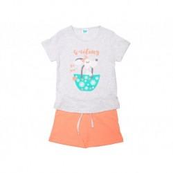 Pijama inf niña m/c-p/c waiting