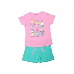 Pijama inf niña m/c-p/c love cupcakes