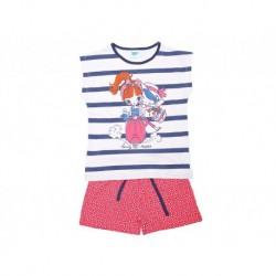 Pijama inf niña m/c-p/c beauty riders