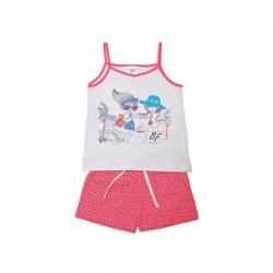 Pijamainf niña tirantes p/c girls