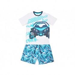 Pijama niño m/c-p/c super drive extreme
