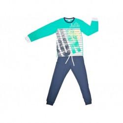 Pijama niño m/l-p/l run