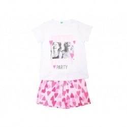 Pijama niña m/c-p/c girls pyjama party