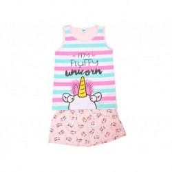 Pijama niña s/m-p/c mu fluffy - Cotton Sugar - TAV-191 77574