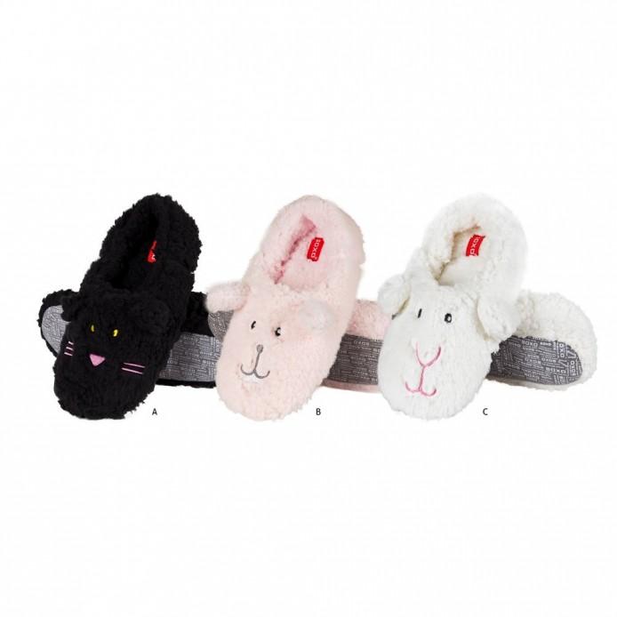 Zapatillas descanso tundosadas animales - Soxo - SXV-37632