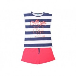 Pijama niña s/m-p/c all you