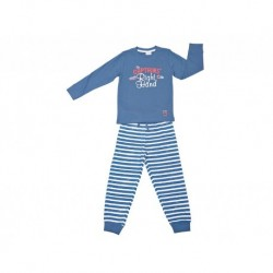 Pijama niño m/l-p/l captains