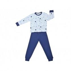 Pijama niño m/l-p/l estrellas