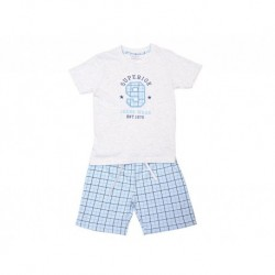 Pijama niño m/c-p/c superior - Cotton Sugar - TAV-191 77605