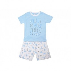 Pijama niño m/c-p/c wild and free - Cotton Sugar - TAV-191 77607