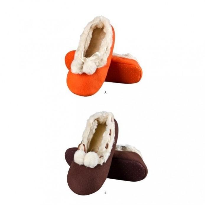 Zapatillas descanso pompon rellenoi suave - Soxo - SXV-62808
