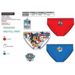 Caja 3 slips (polybag) paw patrol