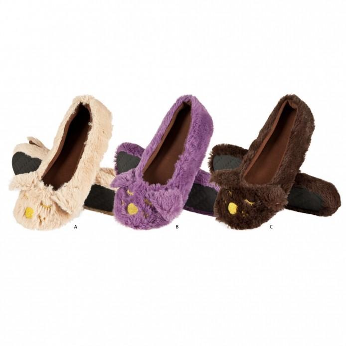 zapatillas descanso tipo bailarina animales - Soxo - SXV-39933