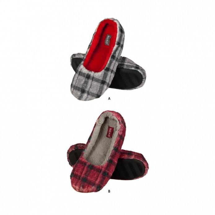 zapatillas descanso tipo bailarina - Soxo - SXV-53977
