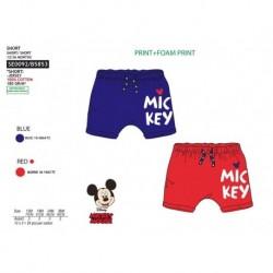 Pantalon corto chandal mickey