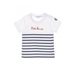 Camiseta manga corta little marcel
