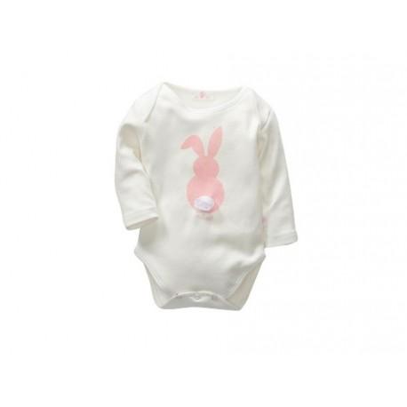 TMBB-C-M58511 proveedor ropa de bebé BODY MANGA LARGA ALGODON