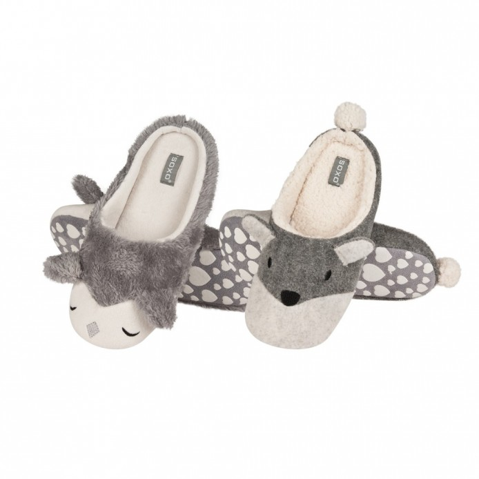 Zapatillas descanso animales - Soxo - SXV-68346