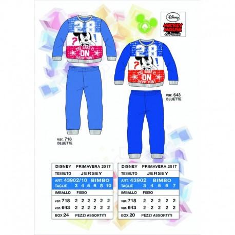 Pijama largo - Arnetta -43902V almacen mayorista de ropa