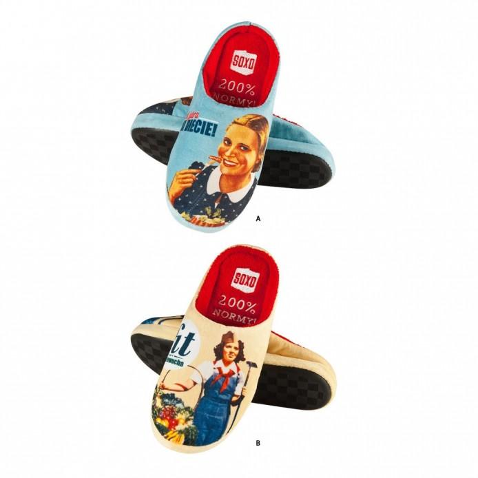 Zapatillas descanso vintage - Soxo - SXV-32774