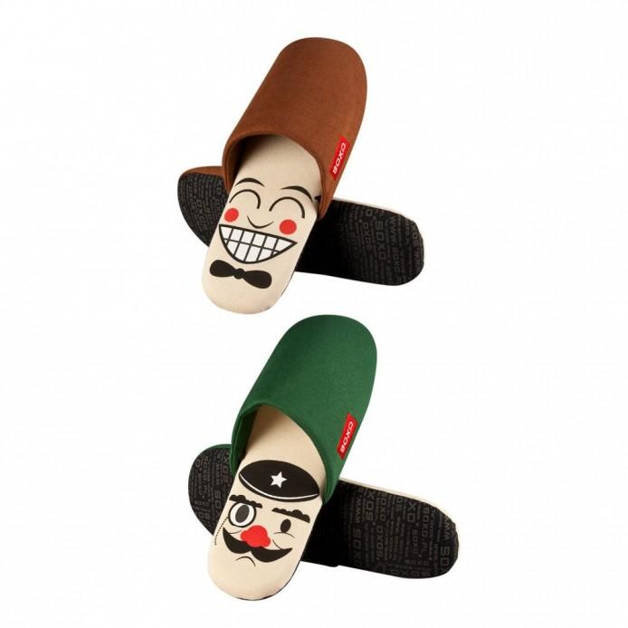 Zapatillas descanso caras - Soxo - SXV-996