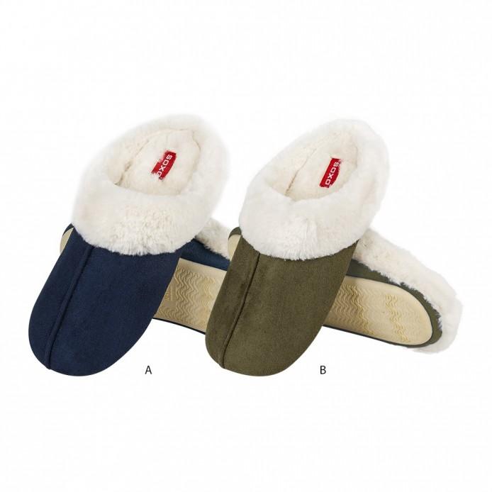 Zapatillas descanso interior suave - Soxo - SXV-70103