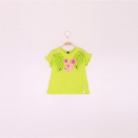 SMV-191227-1 Mayorista de ropa infantil Camiseta niña - Street