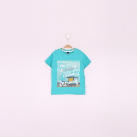 SMV-191120 Mayorista de ropa infantil Camiseta niño - Street