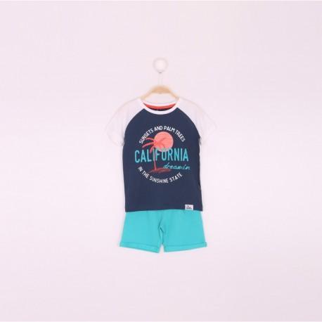 SMV-191127 Mayorista de ropa infantil Conjunto niño - Street