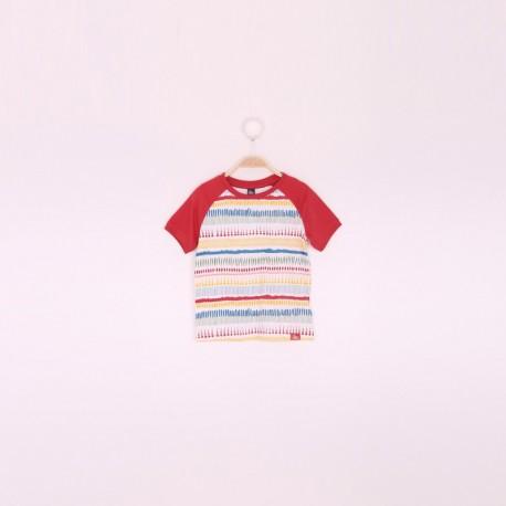 SMV-191102-1 Mayorista de ropa infantil Camiseta niño - Street