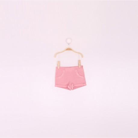 SMV-191210 Mayorista de ropa infantil Pantalon corto niña -