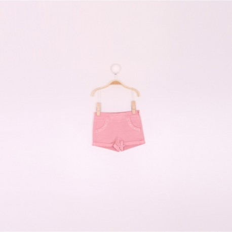 SMV-191210-1 Mayorista de ropa infantil Pantalon corto niña -