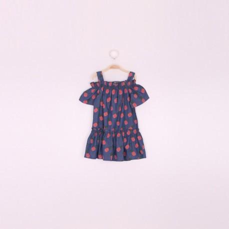 SMV-191205 Mayorista de ropa infantil Vestido niña - Street