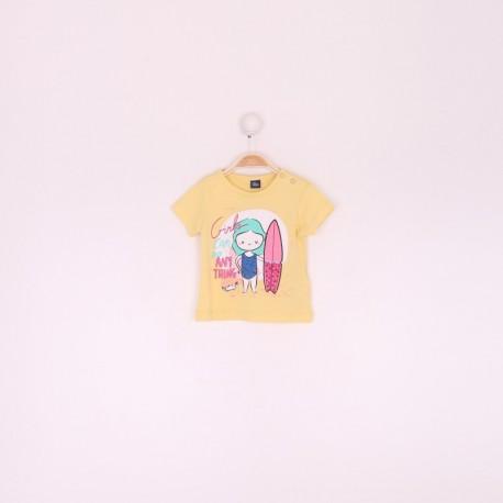 SMV-191050 Mayorista de ropa infantil Camiseta bebe niña -